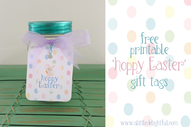 Printable easter gift tags a cute mason jar gift idea a printable easter gift tags a cute mason jar gift idea a little delightful negle Image collections